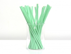 25 paper straws - Green