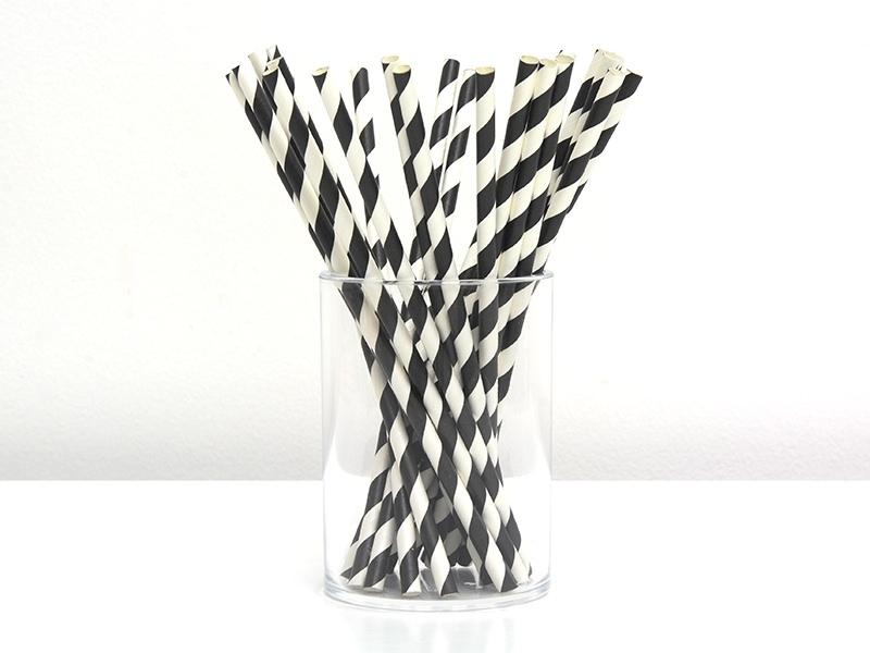 Acheter 25 Pailles en papier - sucre d'orge noir - 4,50€ en ligne sur La Petite Epicerie - Loisirs créatifs