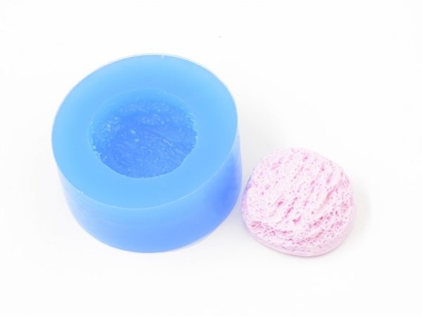 Silicone mould - Textured scoop