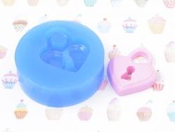 Moule en silicone - Cadenas coeur