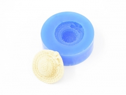 Silicone mould - straw hat
