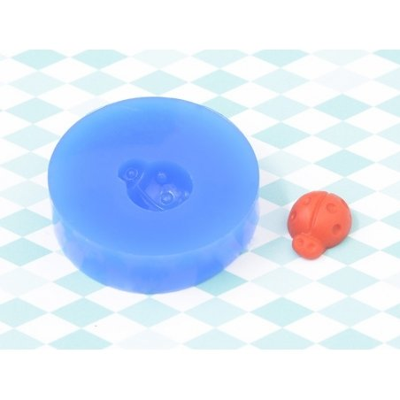 Silicone mould - ladybird