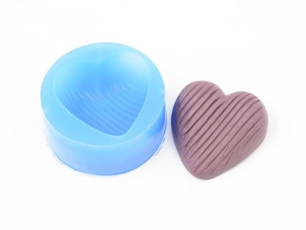 Moule en silicone - Coeur  - 1