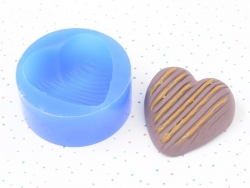 Silicone mould - heart