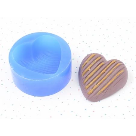 Moule en silicone - Coeur  - 2