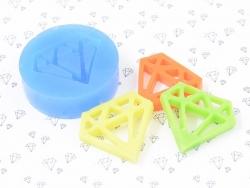Moule en silicone - Diamant géométrique