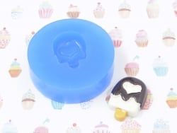 Silicone mould - Ice lolly with a heart