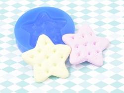 Moule en silicone - Biscuit étoile