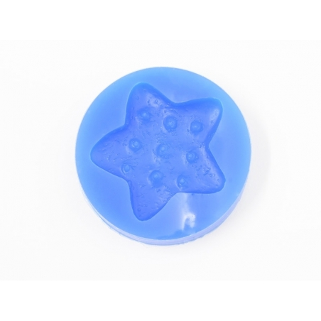 Silicone mould - star-shaped biscuit