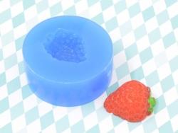 Silikonform - Erdbeere