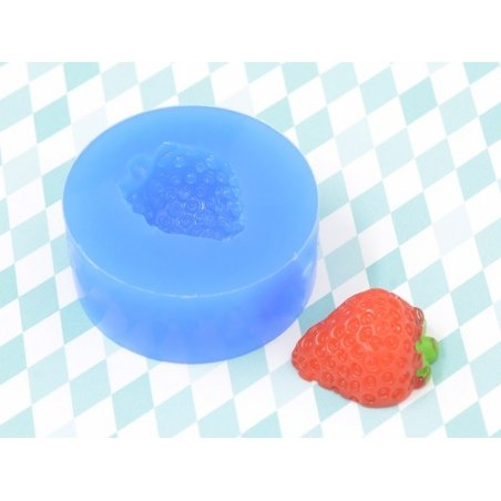 Silicone mould - strawberry