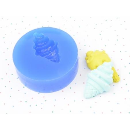 Silicone mould - soft serve