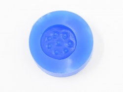 Silicone mould - big ,round biscuit