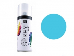 Turquoise blue acrylic paint - spray can (150 ml)
