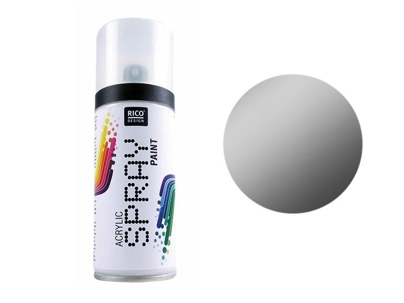 Acheter Peinture acrylique argent en SPRAY - 150 ml - 8,90€ en ligne sur La Petite Epicerie - 100% Loisirs créatifs