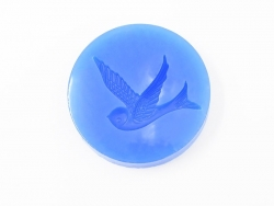 Silicone mould - bird / swallow