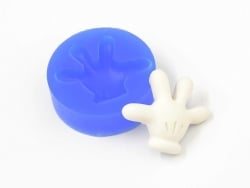 Silicone mould - Mickey's hand