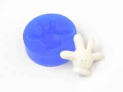 Silikonform - Mickeys Hand