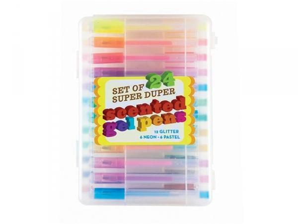 """24 scented gel pens - """"Super Duper"""""""