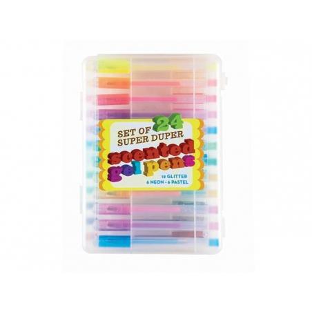 """Acheter 24 stylos gel parfumés """"Super Duper"""" - 16,99€ en ligne sur La Petite Epicerie - Loisirs créatifs"""