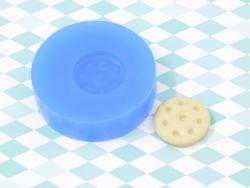 Silikonform - Kleiner, runder Keks