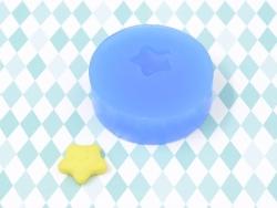 Silicone mould - small star