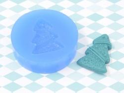 Moule en silicone - Sapin de noël