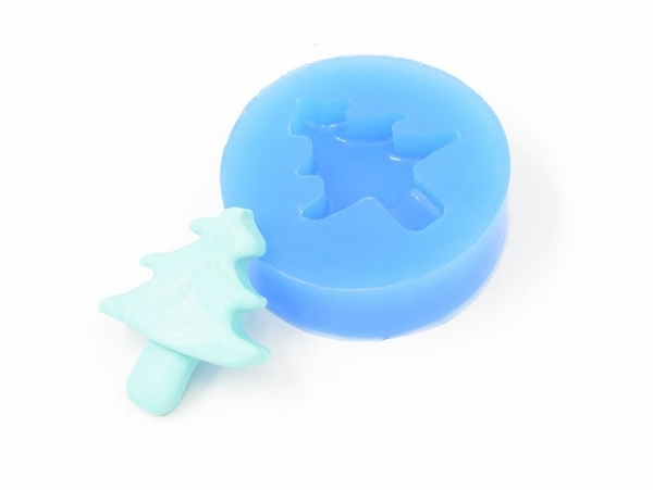 Silicone mould - fir tree