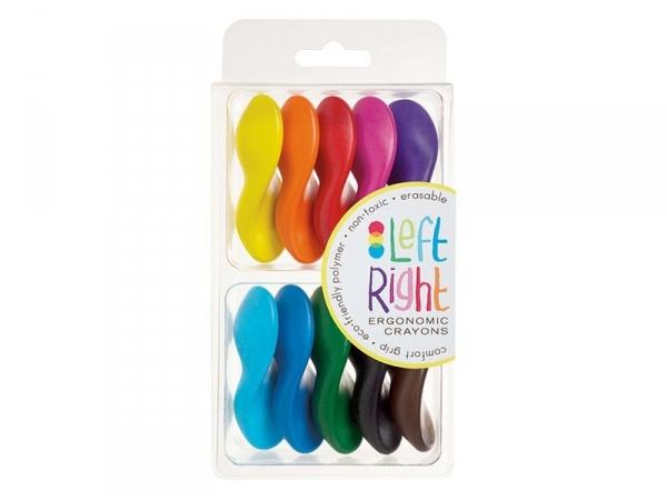 10 Crayons de couleur ergonomiques Ooly - 1