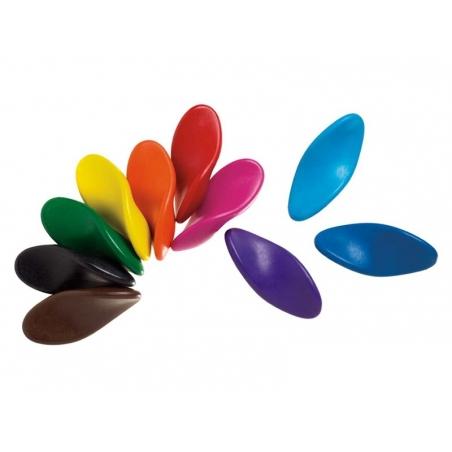 10 Crayons de couleur ergonomiques Ooly - 2