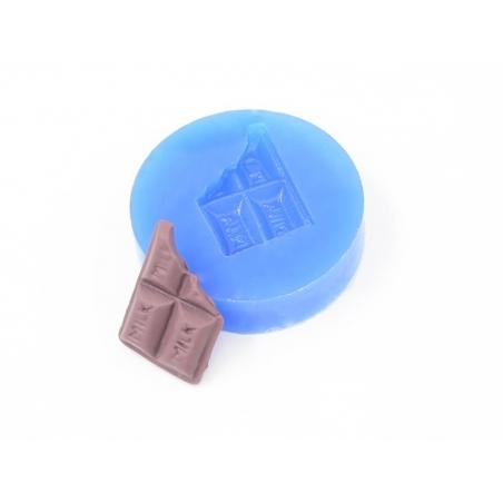 Acheter Moule en silicone - Tablette de chocolat croquée - 3,90€ en ligne sur La Petite Epicerie - Loisirs créatifs
