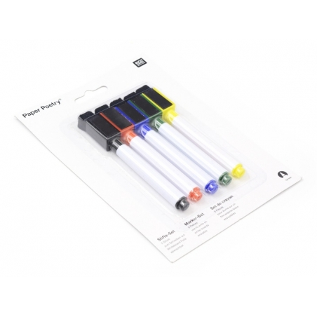 5 erasable whiteboard markers Rico Design - 1