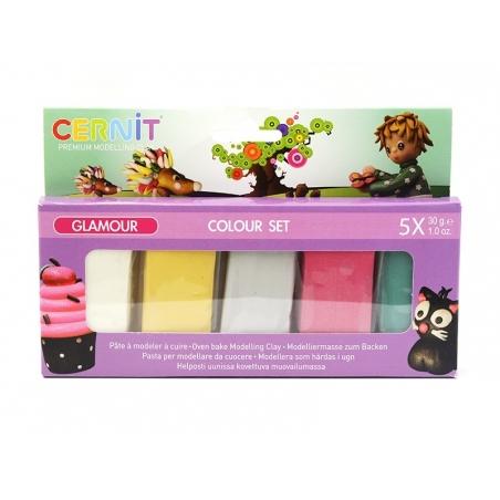 CERNIT colour set Glamour - 5 colours