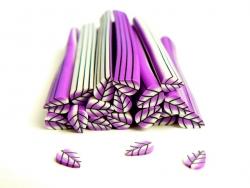 Cane feuille violette