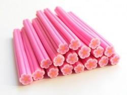 Gänseblümchencane - rosa