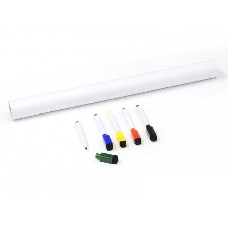 Film ardoise blanc adhesif - 45 x 200 cm Rico Design - 1