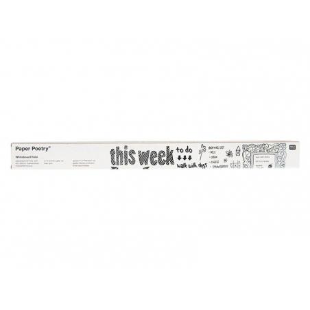 Film ardoise blanc adhesif - 45 x 200 cm Rico Design - 3