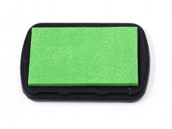 Neongrünes Stempelkissen