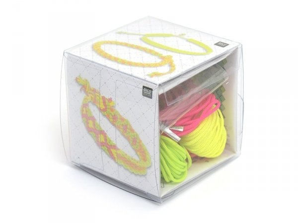 KIT Macramé - Neon pop Rico Design - 1