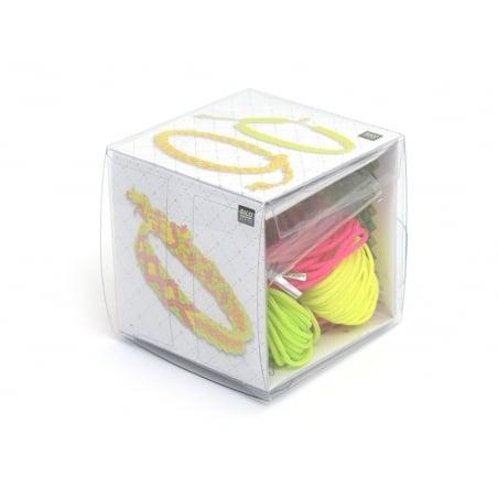 Macramé kit - neon pop