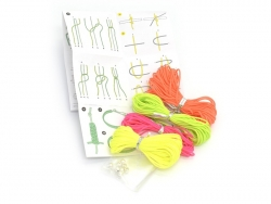 KIT Macramé - Neon pop Rico Design - 2