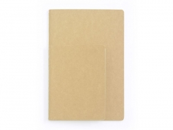 Notebook that can be decorated, 10.5 cm x 14 cm - 80 pages, ruled paper