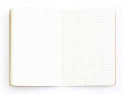Carnet à décorer 14,5 x 21 cm - 80 pages lignées