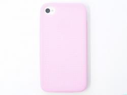 Handyhülle fürs iPhone 4/4S zum Besticken - hellrosa