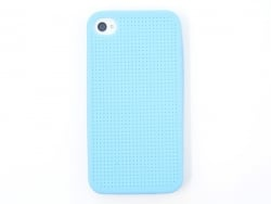 Coque IPHONE 4/4S à broder - Bleu