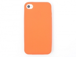Coque IPHONE 4/4S à broder - Orange
