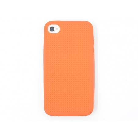 iPhone 4/4S case that can be embroidered - orange