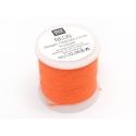 Bobine 20m de fil à broder fluo - orange