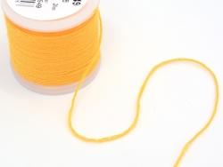 Rolle mit 20 m neonfarbenem Stickgarn - orange-gelb