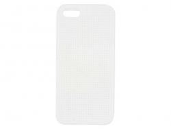 Handyhülle fürs iPhone 5/5S zum Besticken - weiß